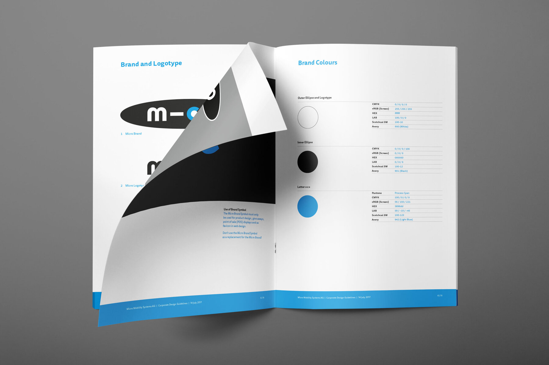 Corporate Design Guidelines Logo und Farben