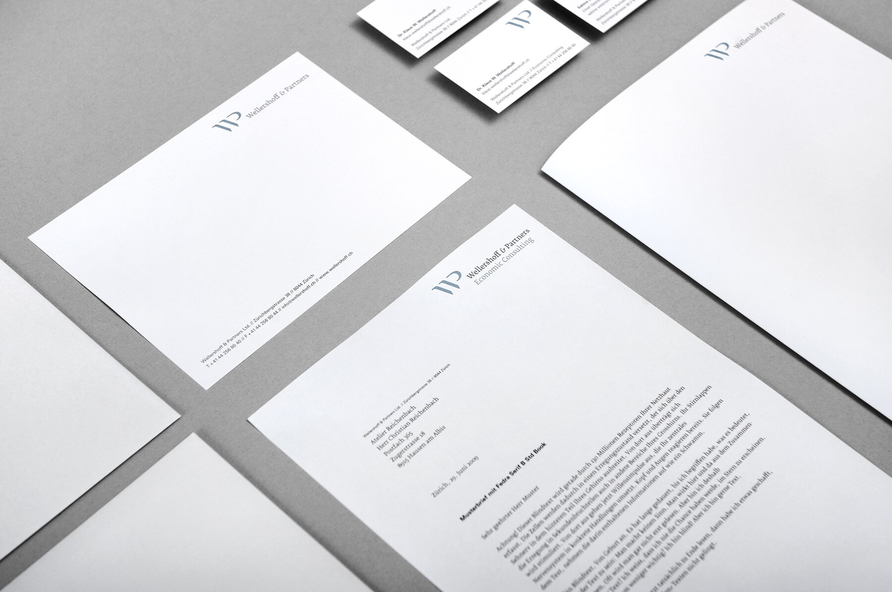 Briefschaft Wellershoff & Partners